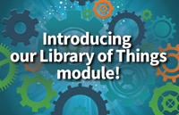 AI is launching a new module designed to help libraries manage their Library of Things